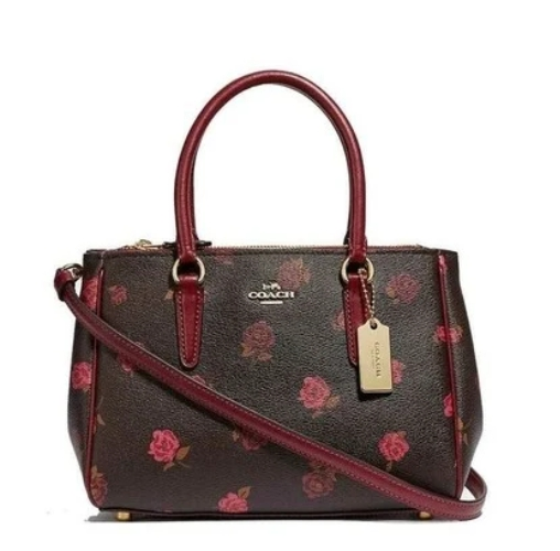 Coach Signature Mini Surrey Carry All